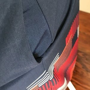 BCBGMaxAzria Dresses - BCBGMaxAzria Red and Blue Bold Print Dress